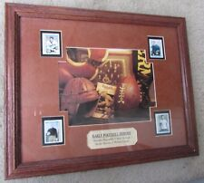 2003 Early Football Heroes Mint Stamp Collectibles Framed Piece