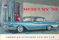 1959 Mercury Monterey Montclair Park Lane Brochure 13228-OTJCL3