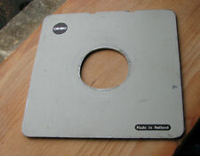 Cambo & SC Monorail 10x8 5x4 lens board  compur 2 ,  52mm irregular  hole