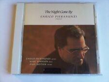 ENRICO PIERANUNZI the night gone by MARC JOHNSON PAUL MOTIAN OOP CD BILL EVANS