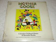"""Mother Goose"" 1960's Children's LP, SEALED!, Columbia #CR-21502"
