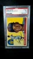 1955 Killebrew Rookie Washington Nationals  Topps #124  PSA 5 EX 17801551