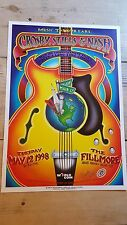 Crosby, Stills, and Nash Concert Poster 1998 - Signed by Randy Tuten