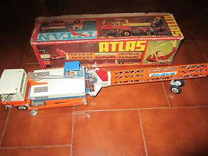 MSB Mezzo da Lavoro 2037 ATLAS in latta anni '60 Germany DDR Tin Boxed