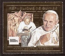 Rep.de GUINEE Timbre neuf OR le Pape Jean-Paul II E244