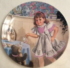 Bradford Exchange Knowles Reco I'm A Little Teapot Plate 6th Issue Vtg