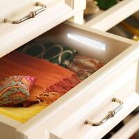 1x 10LED PIR Motion Sensor Wireless Lights Portable Closet Cabinets Night Lights