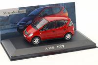 Mercedes-Benz A160 W168 Baujahr 1997 rot 1:43 Altaya