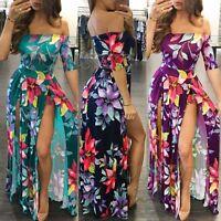 Fashion Women's Sexy Jumpsuit Romper Short Trousers Bodycon Playsuit Long Dress