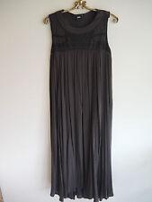 Stunning Charcoal ASOS MAXI Dress Keyhole Back Size 8