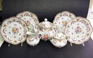 SCHUMANN  BAVARIA  ORIGINAL RARE  ESTATE ANTIQUE  TEA  SET !