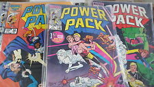 from Avengers Comic lot POWER PACK 1-62 VF bagged []
