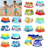 Baby Swimwear Cartoon Pattern Surfing Swim Trunks For Kids Colors Random MO