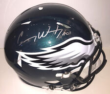 Carson Wentz Autographed Eagles Proline SPEED Authentic Helmet signed  BAS [psa]