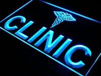 i239-b OPEN Clinic Hospital Display NEW Neon Light Sign