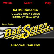 Custom Guitar Lessons, Learn Bob Seger - DVD Video