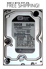 "Western Digital WD5001AALS Caviar Black 500GB HDD SATA 3.5"" - Free Shipping"