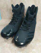 Adidas Black Freak X Carbon High Football Cleats Size 11.5 Clu 600001