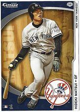 HIDEKI MATSUI FATHEAD TRADEABLES NEW YORK YANKEES REMOVABLE STICKER 2009 #110