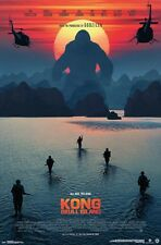KONG SKULL ISLAND - BEACH MOVIE POSTER - 22x34 15472