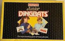 Waddingtons Junior Dingbats Board game 1988