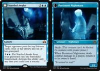 1x NM-Mint, English Foil Startled Awake // Persistent Nightmare - Foil Shadows O