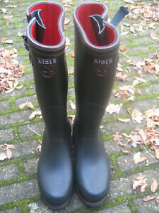 Aigle Parcours ISO- Gummistiefel- Jagdstiefel- Stallstiefel- Gr. 43- Top Zustand