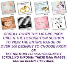"""50 Personalised Chocolate Party Favours """"NEW 2020 Designer Collection"""" Free Post"""