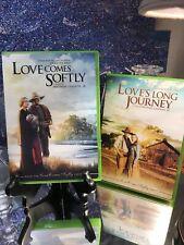 Love Comes Softly 2 DVD Lot Love's Long Journey Michael Landon Jr - Janette Oke