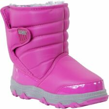 Khombu Juniper Winter Snow Boots w Thermolite Insoles - Size UK 1 - Fuchsia Pink
