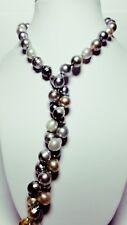 Spendide sautoir de 120 véritables Perles de Tahiti
