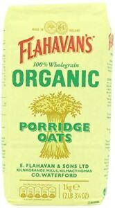 Flahavans Porridge Oats - Organic - 1kg