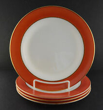 "Pyrex Four Flamingo Pink Dinner Plates (10"")"