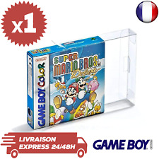 1 Boitier Protection Crystal Box Jeux GameBoy en boite Color Advance GBA 0,3 mm