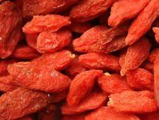 BACCHE DI GOJI Frutta secca naturale DISIDRATATA essiccata 1kg Salutare vegan