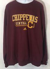 40d3148b4 Central Michigan Chippewas Adidas Mens Fleece Sweatshirt size 2XL