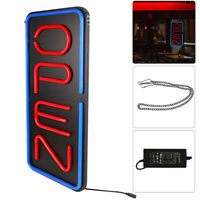 """Large OPEN Neon Sign LED Light Tube For Business Store Bar Shop Decor 12""""x24"""""""