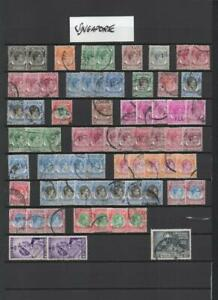SINGAPORE COLLECTION ON 14 PAGES