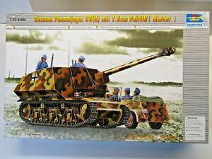 Trumpeter 1:35 Scale Panzerjager 39(H) mit 7.5cm Pak40/1 Marder Model Kit #00354