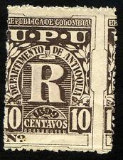COLOMBIA ANTIOQUIA Sc F 5 error Displaced Perforated - M no Gum