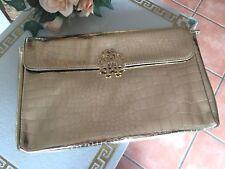 Original Roberto CAVALLI Parfums Tasche BAG Gold NEU OVP Handtasche LUXUS