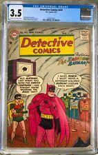 Detective Comics #241 (1957) CGC 3.5 -- Moldoff Rainbow Batman cover and story