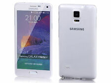 Fashion Ultra Mince TPU Silicone Gel Clear Cell cas pour Samsung Galaxy Note 4