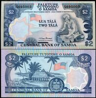 WESTERN SAMOA 2 TALA 1985 P 25 UNC