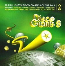 DISCO GIANTS Volume 8 (2-CD) Great 80's 12 inches