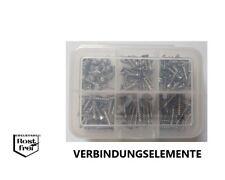 PT-Schrauben Sortiment Senkkopf mit Kreuzschlitz Ø 3,0 125 Teile EDELSTAHL A2
