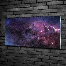 Wandbild aus Plexiglas® Druck auf Acryl 100x50 Weltall & Science-Fiction Nebel
