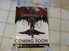 Dragon Age 2 Playstation 3 Xbox 360 PC GameStop Promo Store Display Poster Promo
