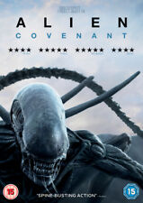 Alien Covenant 2017 Michael Fassbender Genuine UK R2 DVD