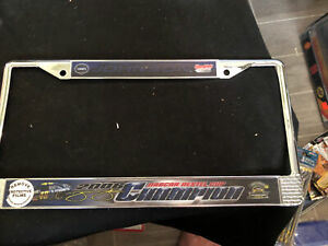 Nascar Driver Jimmie Johnson 48 Lowe's License Plate Frame 2 To Choose From New